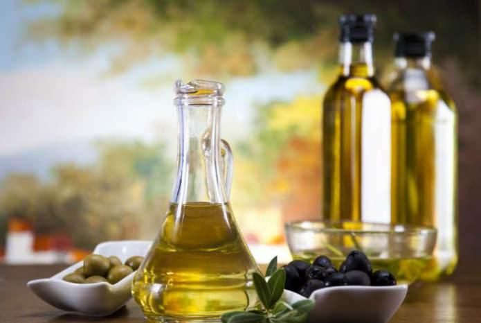 оливковое и касторовое масло