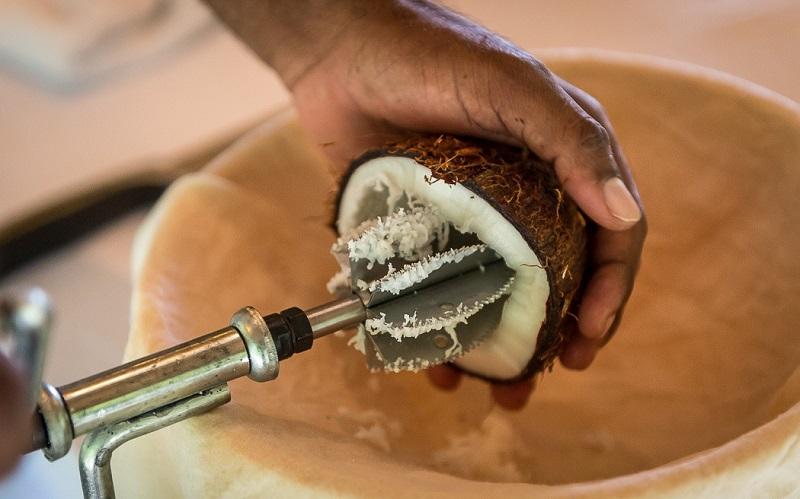 Изготовление кокосового масла