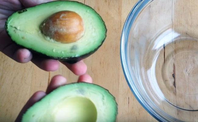 Маска для лица из масла авокадо